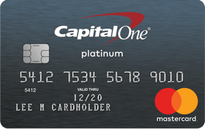 Capital One Bank secured credit card